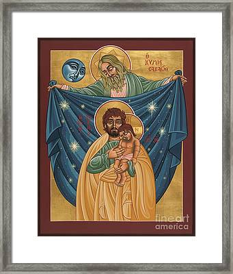 San Jose Sombra Del Padre 161 Framed Print by William Hart McNichols