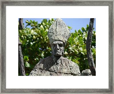 San Juan - La Rogativa Bishop II Framed Print by Richard Reeve