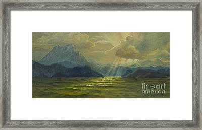 San Juan Islands Framed Print by Jeanette French