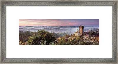 San Miniato - Tuscany Framed Print by Rod McLean