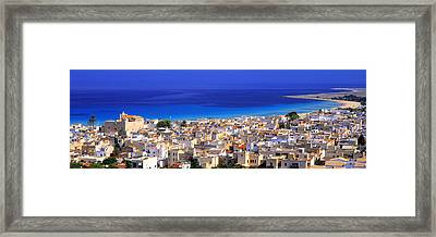 San Vito Lo Capo, Sicily, Italy Framed Print by Panoramic Images