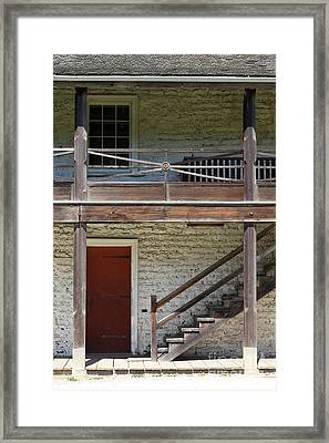 Sanchez Adobe Pacifica California 5d22657 Framed Print by Wingsdomain Art and Photography