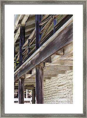 Sanchez Adobe Pacifica California 5d22658 Framed Print by Wingsdomain Art and Photography