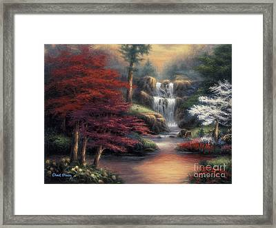 Sanctuary Framed Print by Chuck Pinson