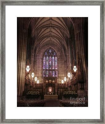 Sanctuary Framed Print by Emily Kay