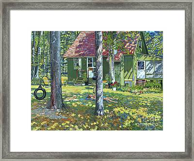 Sanctuary Framed Print by William Bukowski