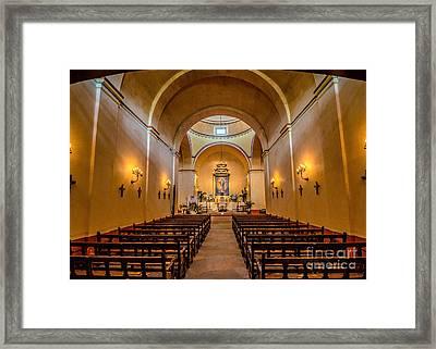 Sanctury Framed Print by John Kain