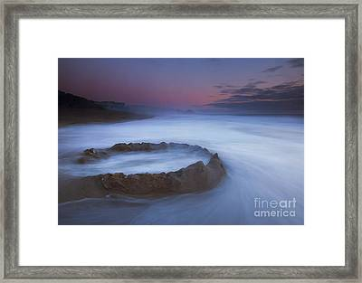 Sand Castle Dream Framed Print by Mike  Dawson