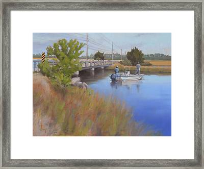 Sand Creek Framed Print by Todd Baxter