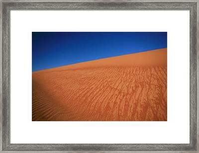 Sand Dune Framed Print by Shari Mattox
