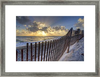 Sand Dunes   Framed Print by Debra and Dave Vanderlaan