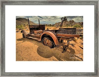 Sand Trap Framed Print by Adam Jewell