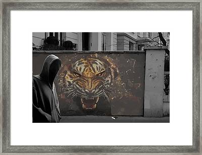 Sand Wall Framed Print by Avery Lane