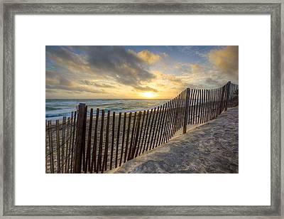 Sanddunes Framed Print by Debra and Dave Vanderlaan