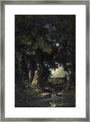 Sandersons Brook Framed Print by Julian Rix