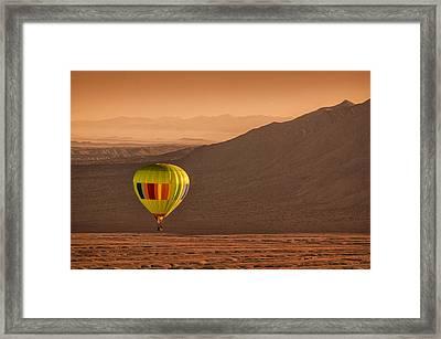 Sandia Peak Framed Print by Keith Berr