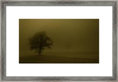 Sandstorm Framed Print by Chris Fletcher