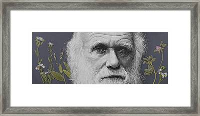 Sandwalk Wood- Charles Darwin.  Framed Print by Simon Kregar
