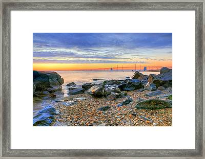 Sandy Framed Print by JC Findley