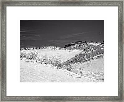 Sandy Neck Dunes 2 Framed Print by Frank Winters