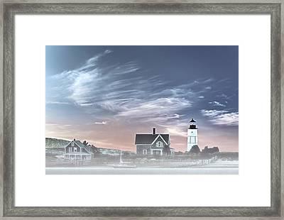 Sandy Neck Lighthouse Framed Print by Susan Candelario