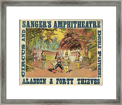 Sanger's Amphitheatre Framed Print by British Library