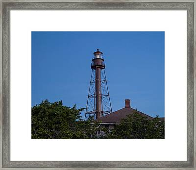 Sanibel Island Lighthouse Framed Print by Kim Hojnacki