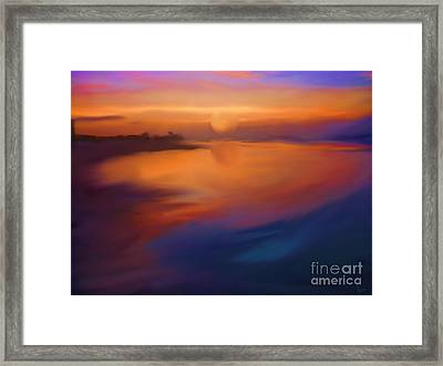 Sanibel Sunrise Framed Print by Jeff Breiman