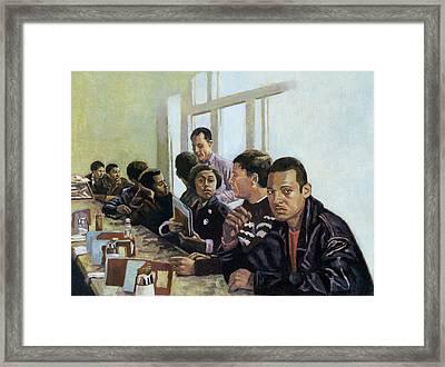 Sanitised Menus Framed Print by Colin Bootman