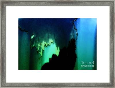 Sans Titre Ix Framed Print by Gerlinde Keating - Galleria GK Keating Associates Inc