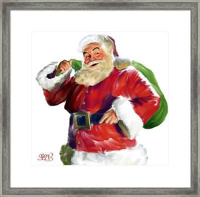 Santa Claus Framed Print by Mark Spears