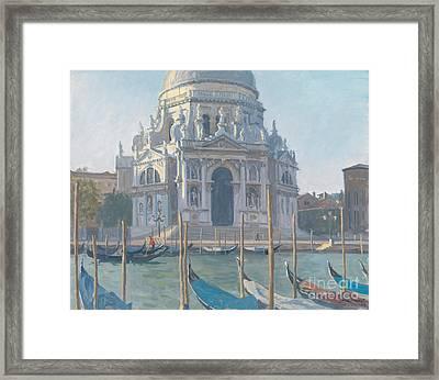 Santa Maria Della Salute Framed Print by Julian Barrow