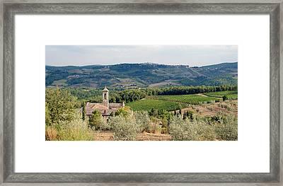 Santa Maria Novella Priory Tuscany Framed Print by Mathew Lodge