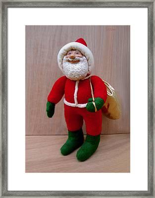Santa Sr. - Merry Christmas Framed Print by David Wiles