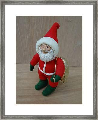 Santa Sr. - Ready To Go Framed Print by David Wiles