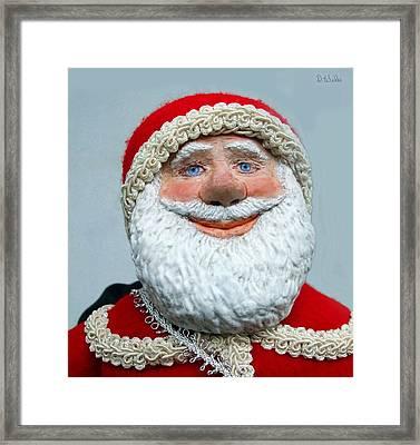 Santa's Big Day Framed Print by David Wiles