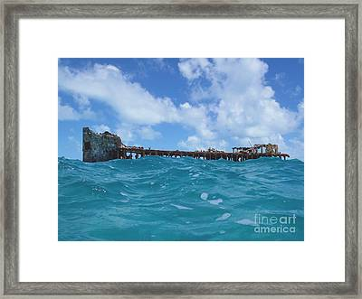 Sapona Bahamas Framed Print by Carey Chen