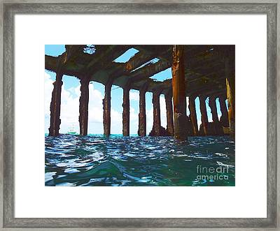 Sapona Bimini Framed Print by Carey Chen