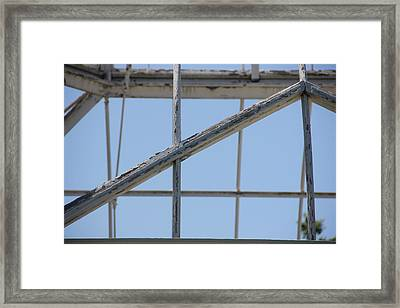 Sapphire 2 Framed Print by Angelique Francis