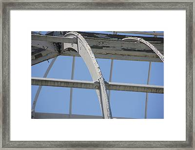 Sapphire 3 Framed Print by Angelique Francis