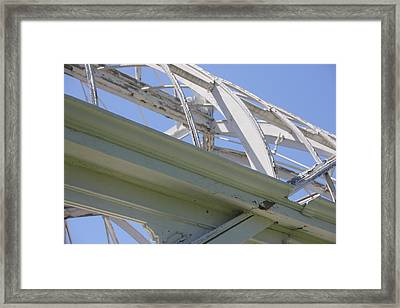 Sapphire 5 Framed Print by Angelique Francis