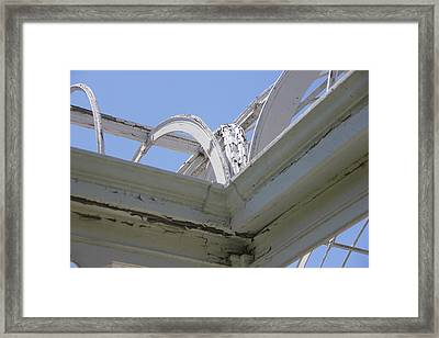Sapphire 6 Framed Print by Angelique Francis