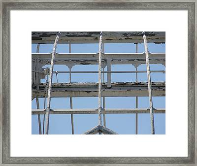 Sapphire 7 Framed Print by Angelique Francis