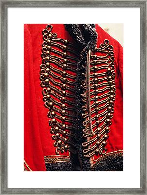 Sargeant Peppers Uniform Framed Print by Carl Purcell