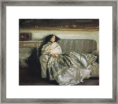 Sargent, John Singer 1856-1925 Framed Print by Everett