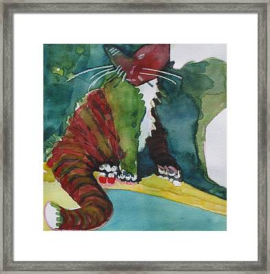Sassy Lizzie Framed Print by Chere Force