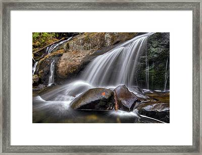 Sassy Waters Framed Print by Debra and Dave Vanderlaan