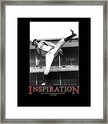 Satchel Paige Inspiration Framed Print by Retro Images Archive
