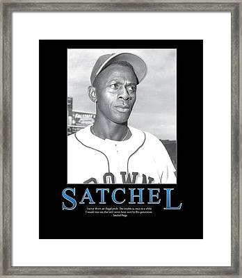 Satchel Paige Framed Print by Retro Images Archive