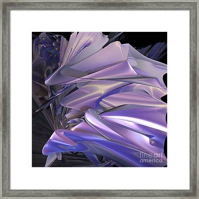 Satin Wing By Jammer Framed Print by First Star Art